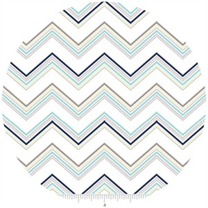Doohickey Designs, Ashbury Heights, Chevron Blue