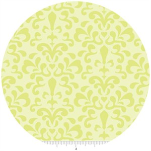 Doohickey Designs, Ashbury Heights, Damask Citron