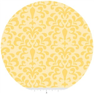 Doohickey Designs, Ashbury Heights, Damask Yellow
