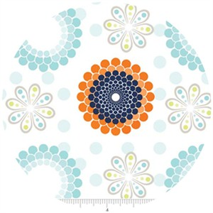 Doohickey Designs, Ashbury Heights, Floral Blue