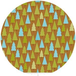 Doodlebug Designs, Happy Camper, Trees Brown