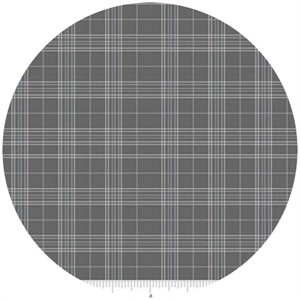 Doohickey Designs, Life In The Jungle, Plaid Gray