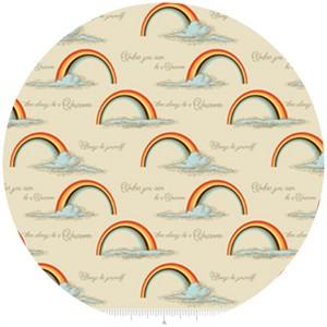 Doohikey Designs, Unicorns & Rainbows, Poster Orange