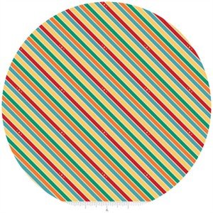 Doohikey Designs, Unicorns & Rainbows, Stripe Multi