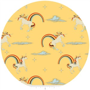 Doohikey Designs, Unicorns & Rainbows, Unicorn Yellow