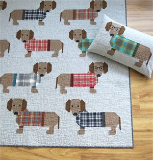Sewing Pattern, Elizabeth Hartman, Dogs in Sweaters