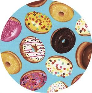 Timeless Treasures, Donut Toss Aqua