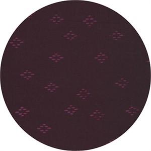 Hoffman Fabrics, Indah BATIKS, Dotted Diamonds Eggplant