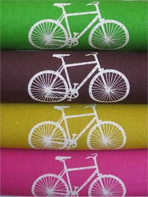 Echino by Etsuko Furuya, Nico, Fall 2012, Cycling Sampler in FAT QUARTERS 4 Total