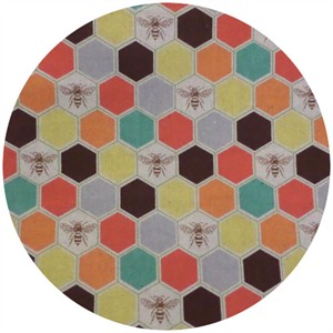 Echino, Decoro 2014, Bees Orange/Brown