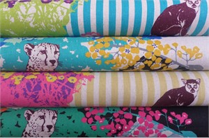 Echino, Decoro 2014, Hide in FAT QUARTERS 4 Total (PRE-CUT)