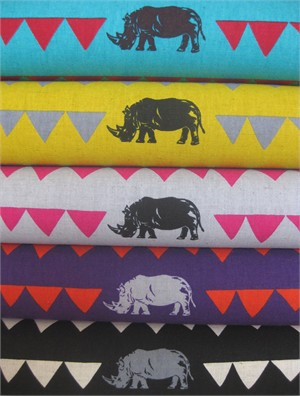 Echino, Decoro 2013, Rhino in FAT QUARTERS 5 Total�