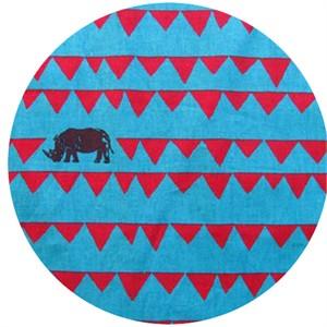 Echino, Decoro 2013, Rhino Turquoise