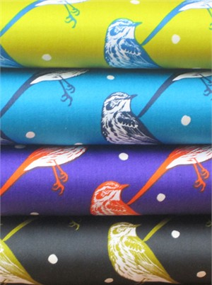 Echino, Decoro, Atori Sampler in FAT QUARTERS 4 Total