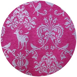 Echino, Decoro BROCADE, Deer Damask Pink