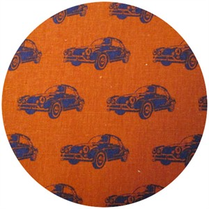 Echino, Decoro, Car Orange