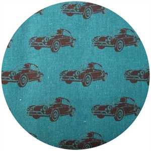 Echino, Decoro, Car Deep Teal