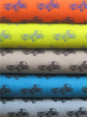 Echino, Decoro, Car Sampler in FAT QUARTERS 5 Total