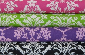 Echino Decoro, Gothic in FAT QUARTERS, 4 Total
