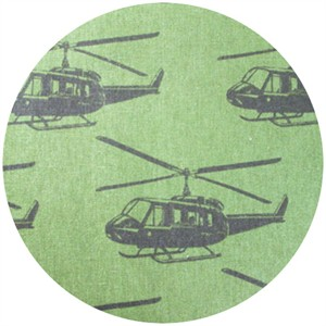 Echino, Decoro, Helicopter Army Green