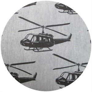 Echino, Decoro, Helicopter Grey/Black