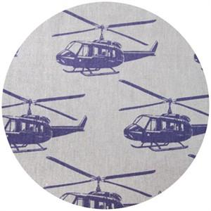 Echino, Decoro, Helicopter Light Grey/Purple