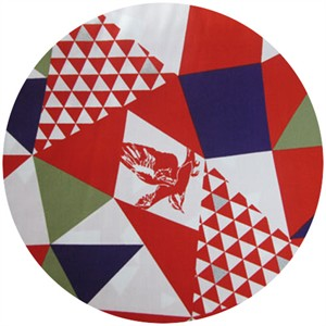 Echino, Decoro, Mountain Red