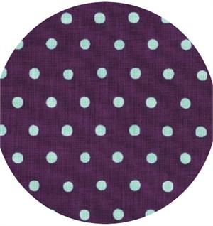 Echino, Dot Dot, Blue on Purple