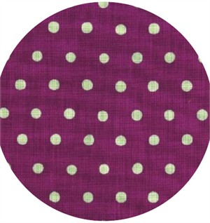 Echino, Dot Dot, Soft Mint on Purple