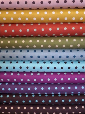 Echino, Dot Dot in FAT QUARTERS 10 Total