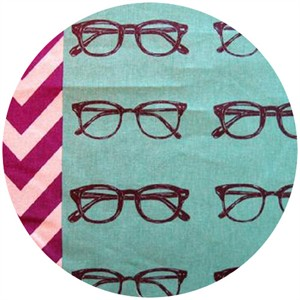 Echino, Nico 2013, Glasses Teal Blue