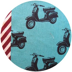 Echino, Nico 2013, Scooters Teal Blue