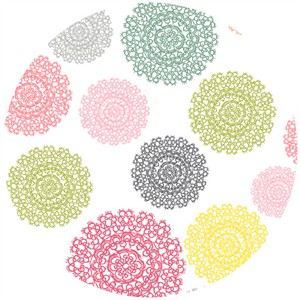 Echo Park for Andover, Love Notes, Doily Multi