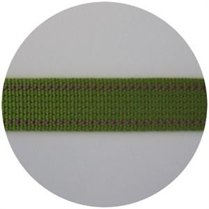 Echino Stitched Webbing Green