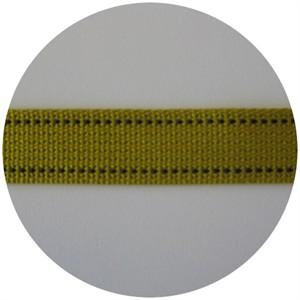 Echino Stitched Webbing Mustard