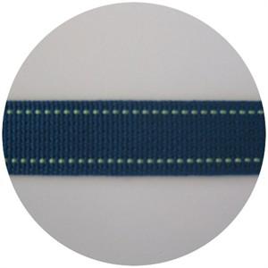 Echino Stitched Webbing Turquoise