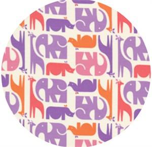 Eleanor Grosch, Zoo Menagerie, Animal Stripe Purple