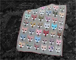 Sewing Pattern, Elizabeth Hartman, Fancy Fox Quilt Pattern