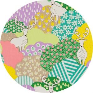 Cosmo Textiles, Forest Delight, Elk Eden Multi