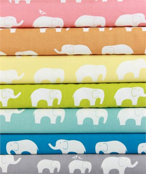 Jay-Cyn Designs for Birch Fabrics, Mod Basics, ORGANIC, Ellie Fam 7 Total