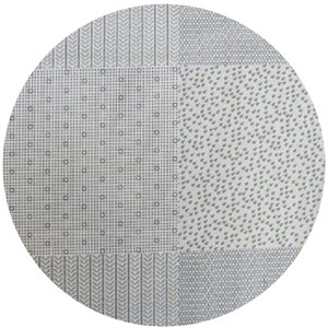 Ellen Luckett Baker, Garden, Pattern Squares Grey (23 Inch Panel)
