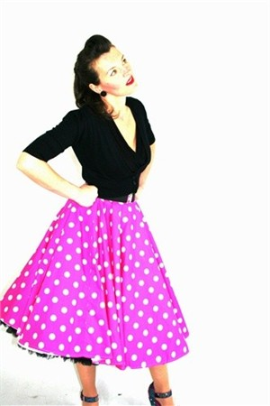 Eliza M Vintage Style Sewing Patterns, Circle Skirt