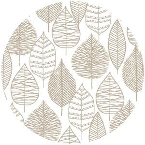 Eloise Renouf, Bark & Branch, Organic, Line Leaf Grey