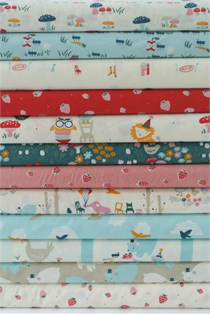 Emily Isabella for Birch Organic Fabrics, Everyday Party, Entire Collection 12 Total