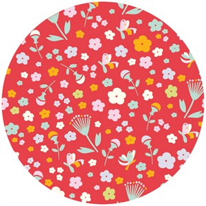 Emily Isabella for Birch Organic Fabrics, Yay Day, Pretty Floral