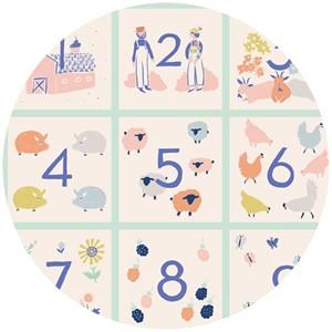 "Emily Isabella for Birch Organic Fabrics, Homestead, Homestead Patch (24"" Panel)"