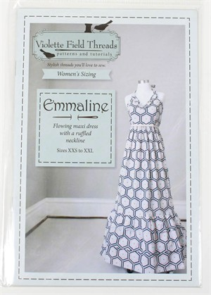 Violette Field Threads, Sewing Pattern, Emmaline Maxi Dress