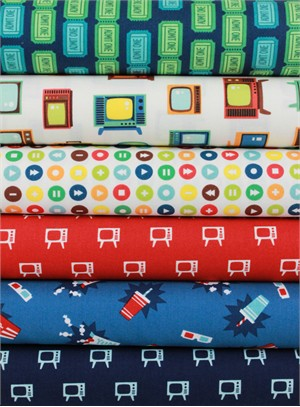 Robert Kaufman, Let Me Entertain You in FAT QUARTERS 6 Total