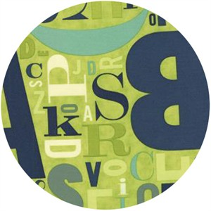 Eric & Julie Comstock, Social Club, Alphabet Letters Lime Rickey