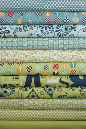 Eric & Julie Comstock, Social Club, Lime Rickey in FAT QUARTERS 11 Total